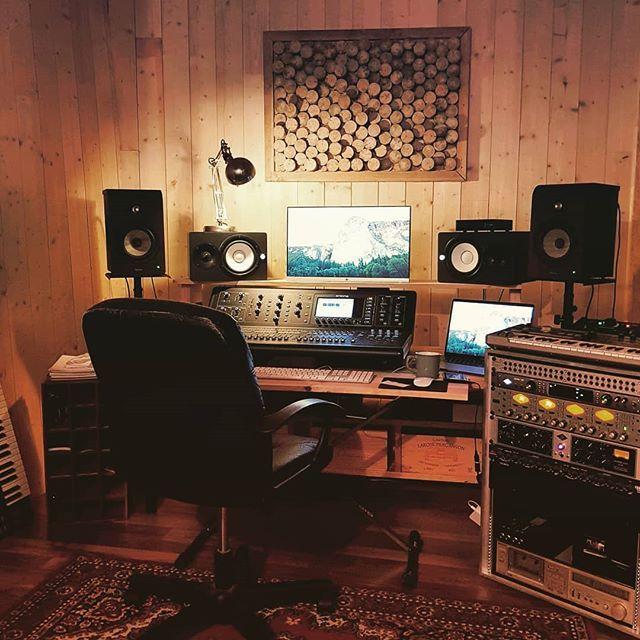 Audiogearz On Instagram Horloge Studio Recording Studio Home Music Studio Room Home Studio Setup