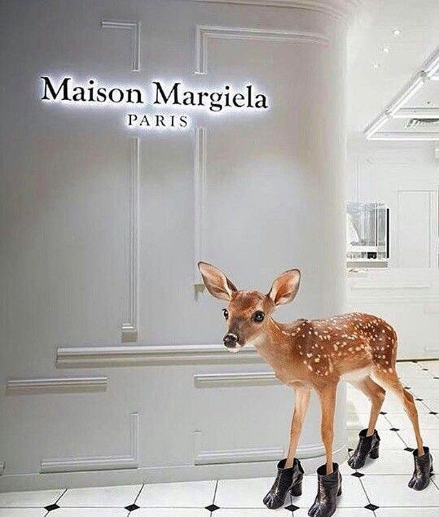 "MAISON MARGIELA, Paris, France, ""Dream Big Little One"", photo by VIU - Visual Identidade Única, pinned by Ton van der Veer"
