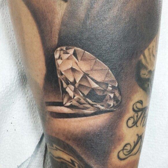 diamond tattoo filler realism diamond life realistic tattoos black and ...