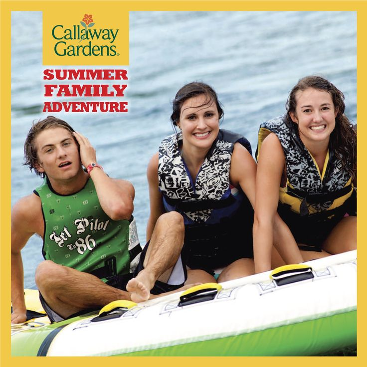 Cover of Summer Family Adventure for Callaway Gardens.