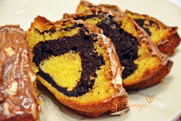 Апельсиново-шоколадный влажный кекс