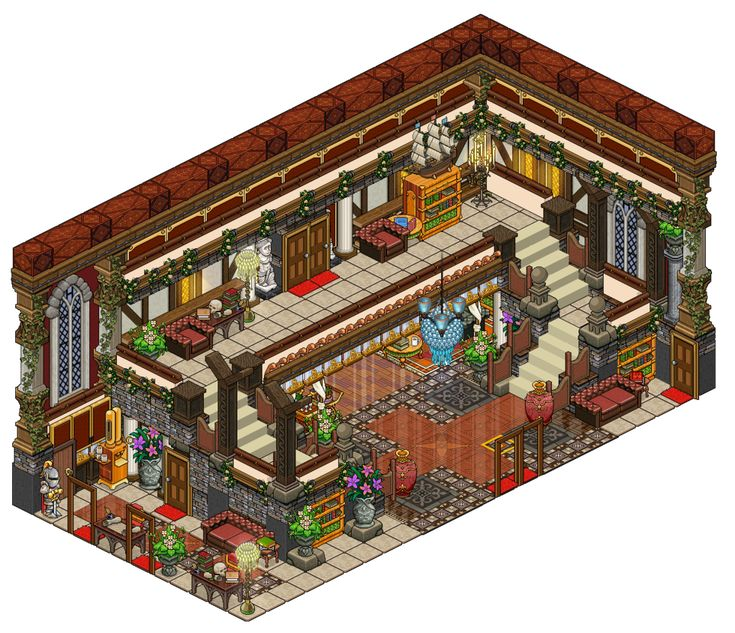 Mansion entrance by on for Apartment 412 rpg maker