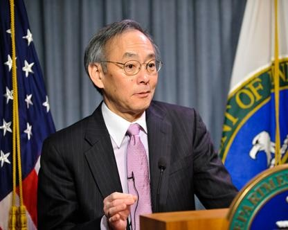 Steven Chu US Energy Secretary
