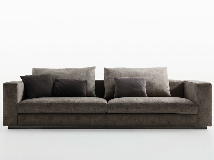 Upholstered 3 seater sofa REVERSI' 14 Reversi Collection by MOLTENI