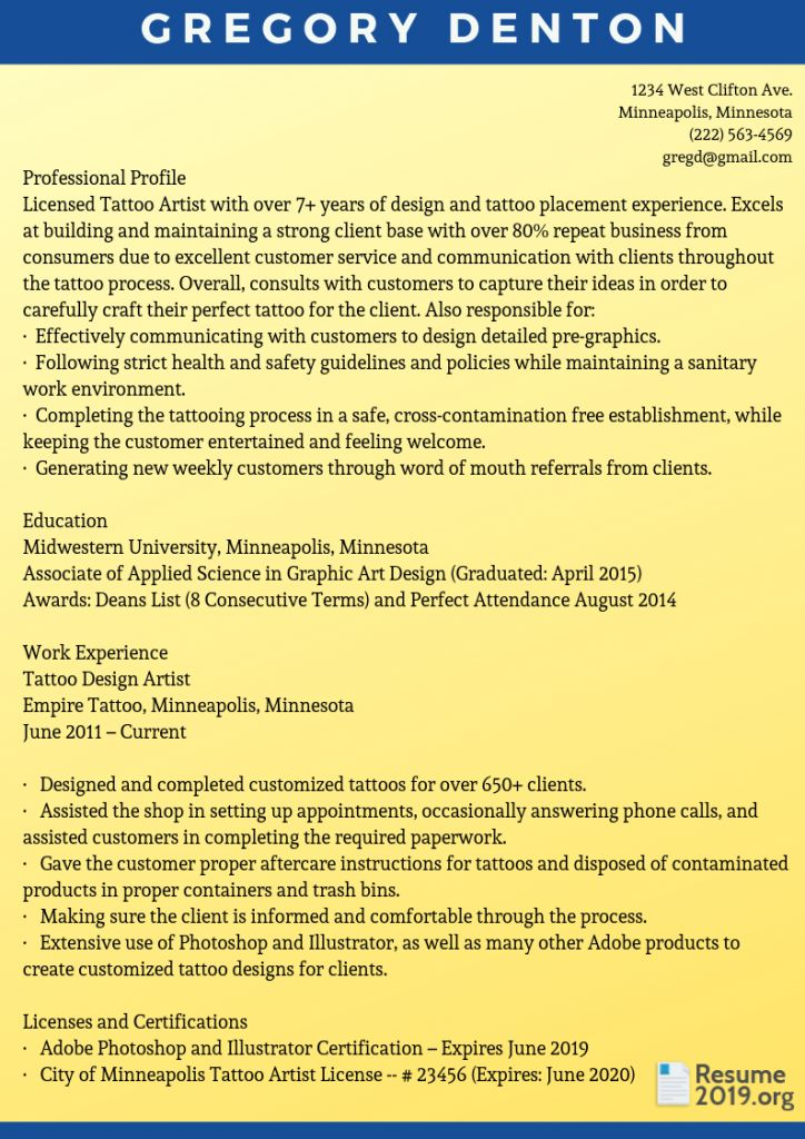 New resume format 2019 resume format new resume format