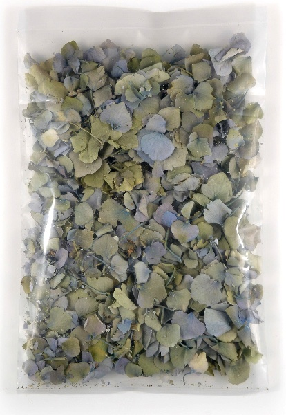 Hydrangea Petals Freeze Dried 5 cups (5 cups/pkg) $9.50 pkg/ 3 for $8 pkg - flower girl