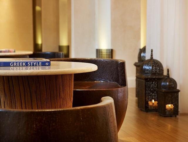 The Westin Resort, Costa Navarino—Anazoe Spa - Lobby detail by Westin Hotels and Resorts, via Flickr