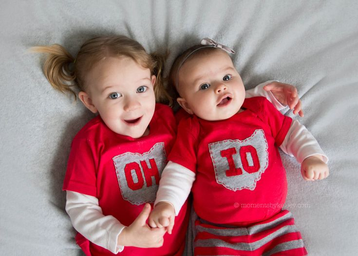 OH-IO Bodysuit/t-shirt set for SIBLINGS, Great way to celebrate a 2nd birth!!! This is a must!