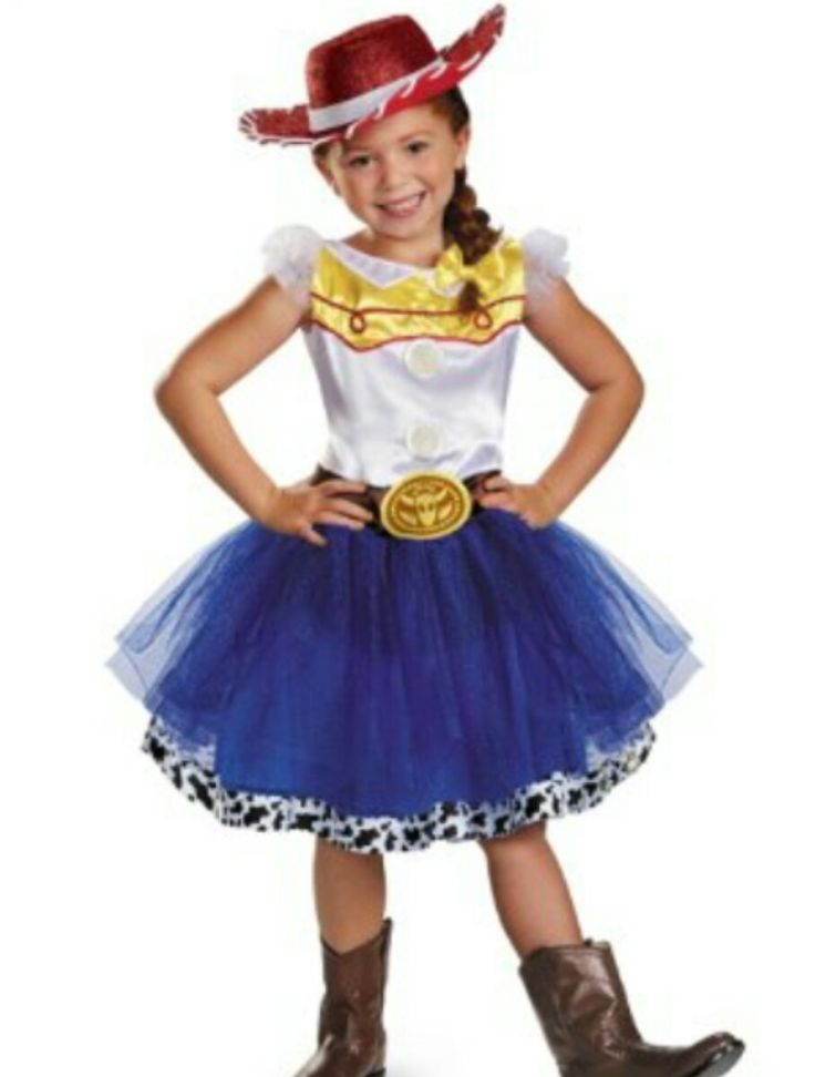 Free Shipping Custom Toy Story Jessie Cowboy cosplay