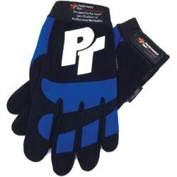 Mechanics Gloves - Blue Medium
