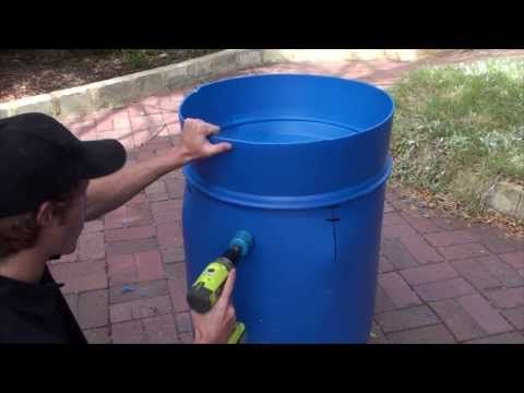 I barrel aquaponic system multiple sustainable food for Garden pool doomsday preppers