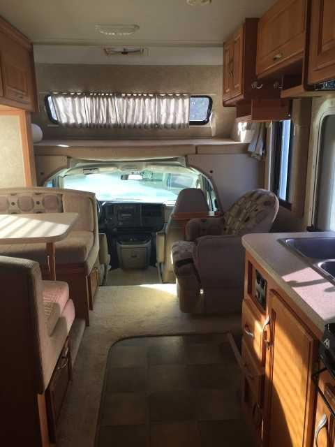 2007 Used Thor Motor Coach Four Winds Five Thousand Class C in California CA.Recreational Vehicle, rv, Pristine, beautifully maintained easy to operate Motor Home with a slideout floor plan that offers generous impressive living space and storage room with several custom storage additions. It has been smoke free and we are the original owners. The motor home can sleep 6 with a comfortable full-sized master bed, king size loft-bed and 42 * 68 dinette conversion. There are four storage areas…