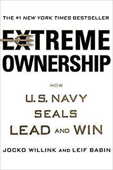 """Extreme Ownership   Tip en bestseller in de VS... Een managementboek maar dan anders en ook een boek voor zelfgroei, -ontplooiing.  Een boek voor iedereen die zijn professionele verantwoordelijkheid neemt als leider (op welk niveau dan ook) binnen een team...... (gezin, familie, bedrijf).  Ik lees het en op hetzelfde moment luister ik naar het hoorboek, immersion reading☺️     """"Extreme Ownership: How U.S. Navy SEALs Lead and Win"""": http://a.co/8QnqE1p"""