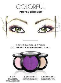 Схема для зеленых глаз 3