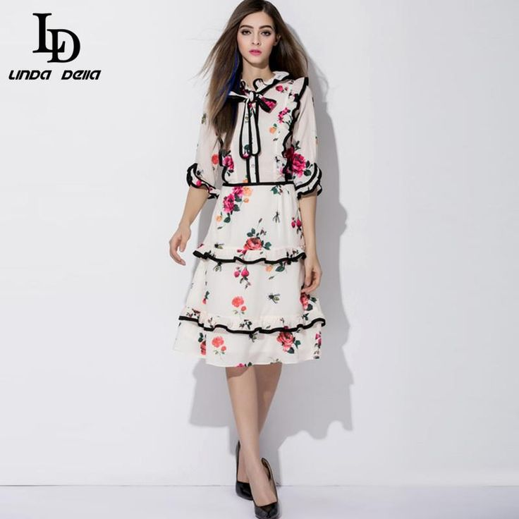 Autumn Winter Women Sleeveless Noble Houndstooth Embroidery Character Button Knee Length Dress Love it? www.storeglum.com... #shop #beauty #Woman's fashion #Products
