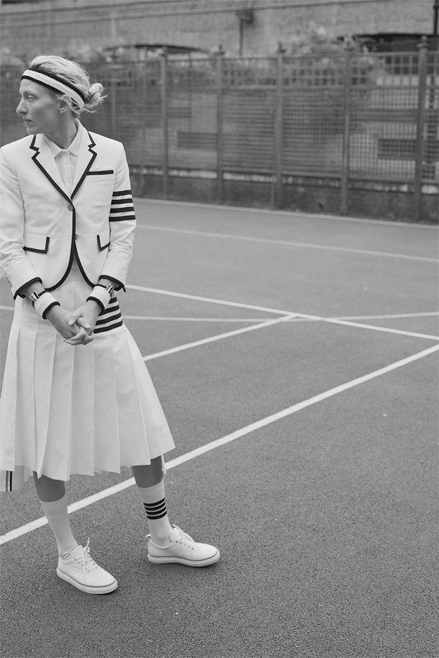Как Серена Уильямс и Рафаэль Надаль: Коллекция Thom Browne для Уимблдона (фото 1)