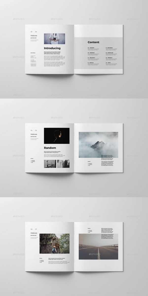 35 Brochure Templates For Adobe Indesign Book Design Layout Architecture Brochures Square Brochures