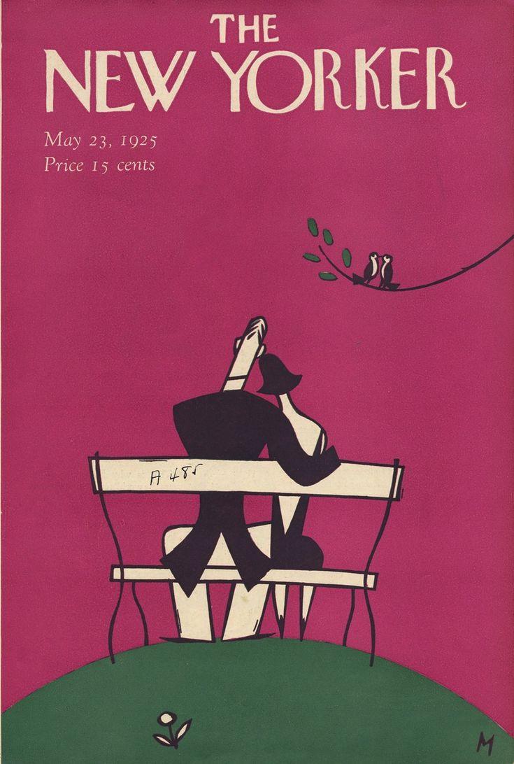 журнал «The New Yorker» за 1925 год. Начало.