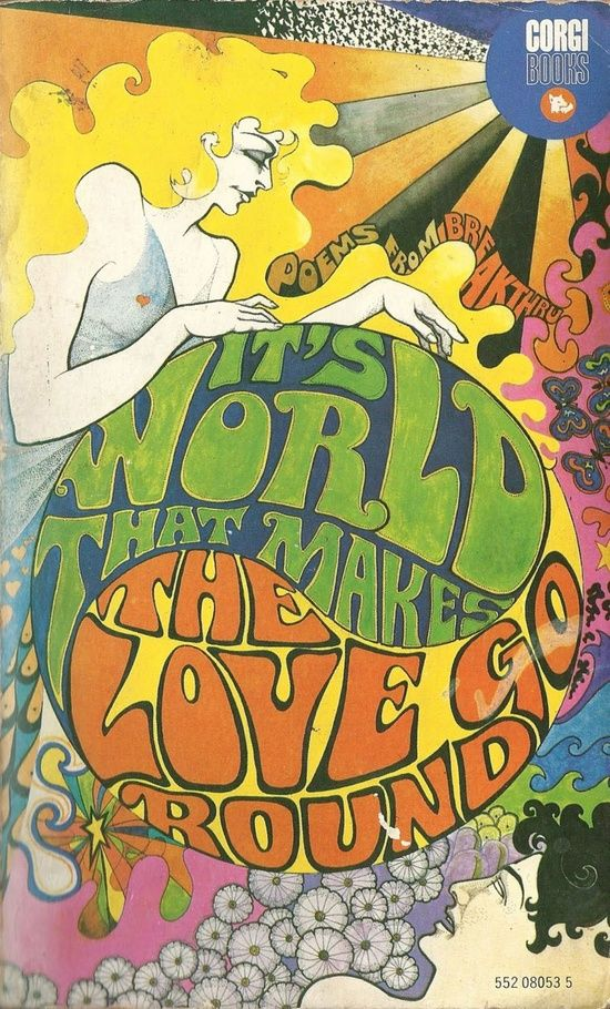 'It's World that Makes the Love Go Round' — Poems from Breakthru International Poetry Magazine — 1960s book cover