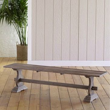 Provence Bench - traditional - Dining Benches - Cost Plus World Market