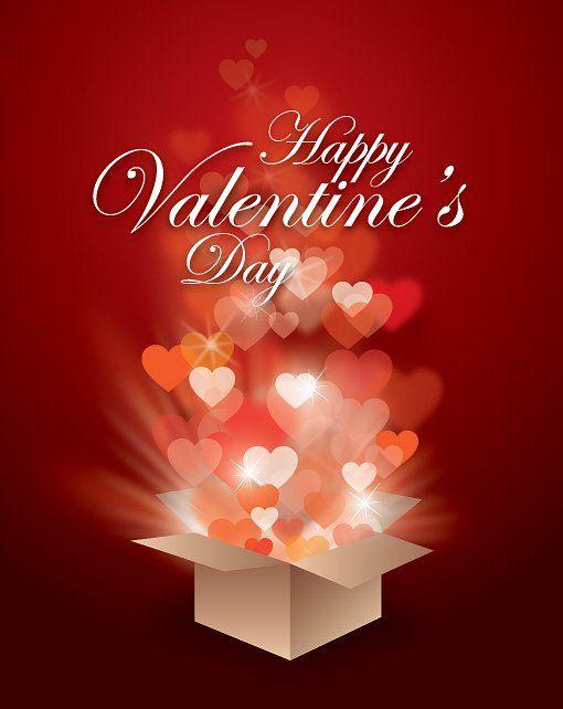 free valentine images | Valentines Gift Vector Graphic — happy valentines day, valentine ...
