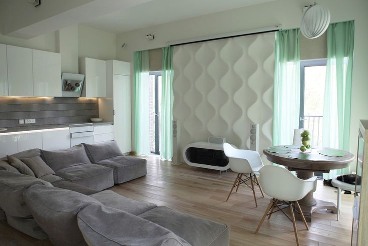 Волна - Кухня в современном стиле | PINWIN - конкурсы для архитекторов…