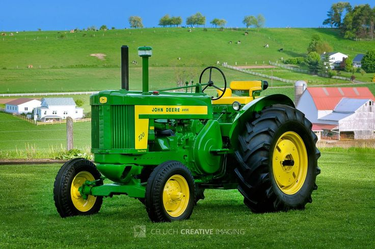 """#6 """"In John Deere Green""""...   As everyone knows, John Deere brand colors are green and yellow. The color green is the heart of John Deere identity and covers all farm equipment John Deere sells. Yellow is usually considered Caterpillar's  trademark, well established as a color of construction equipment. That's may be the reason why John Deere's construction equipment is yellow too..."""