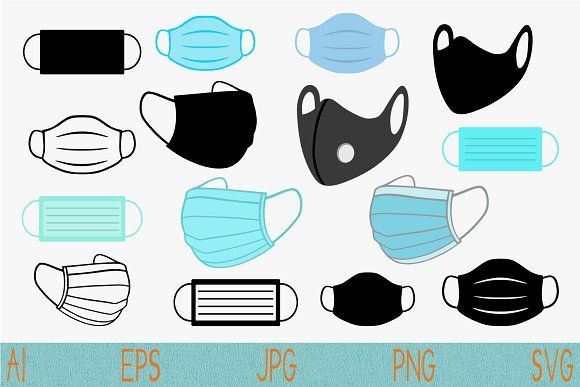 Medical Face Mask Svg Png Vector In 2020 Mask Images Svg Face Mask