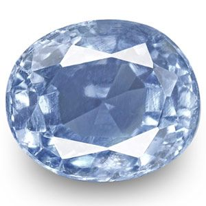 0.73-Carat Unheated Lustrous Intense Blue Kashmir Sapphire (GIA)