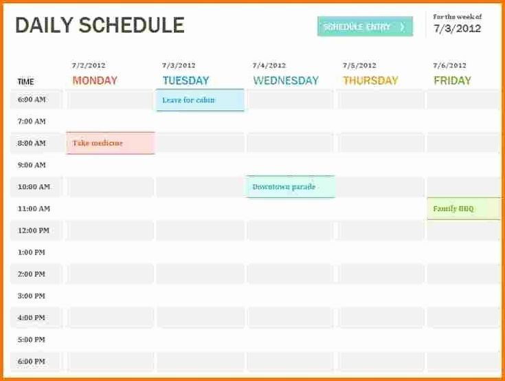 15 Juicy Kanban Board Templates For Excel Free Tipsographic Daily Planner Template Daily Schedule Template Planner Template