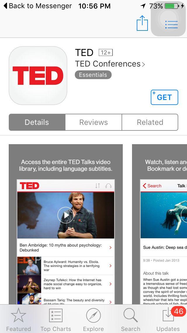 Depression, The secret we share Ted talk