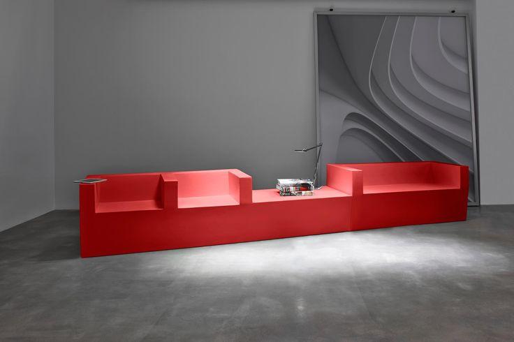 Stratta BLOCK,designed by Jorge Herrera, making its UK debut with Encompass at #Sleep15