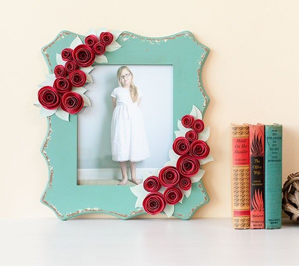 3d Floral Flower Rose Frame Materials Cricut Explore