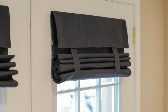 THIS IS NOT A ROMAN SHADE! EVEN BETTER...NO CORDS AND NO HOLES!  Needing something to cover your French doors, patio doors, or even your office