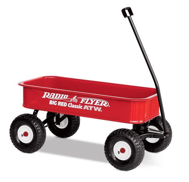The 8 Best Wagons to Improve Your Child's Motor Skills: Radio Flyer Big Red Classic ATW