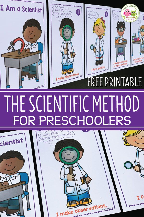 The Scientific Method for Kids How to use This Free