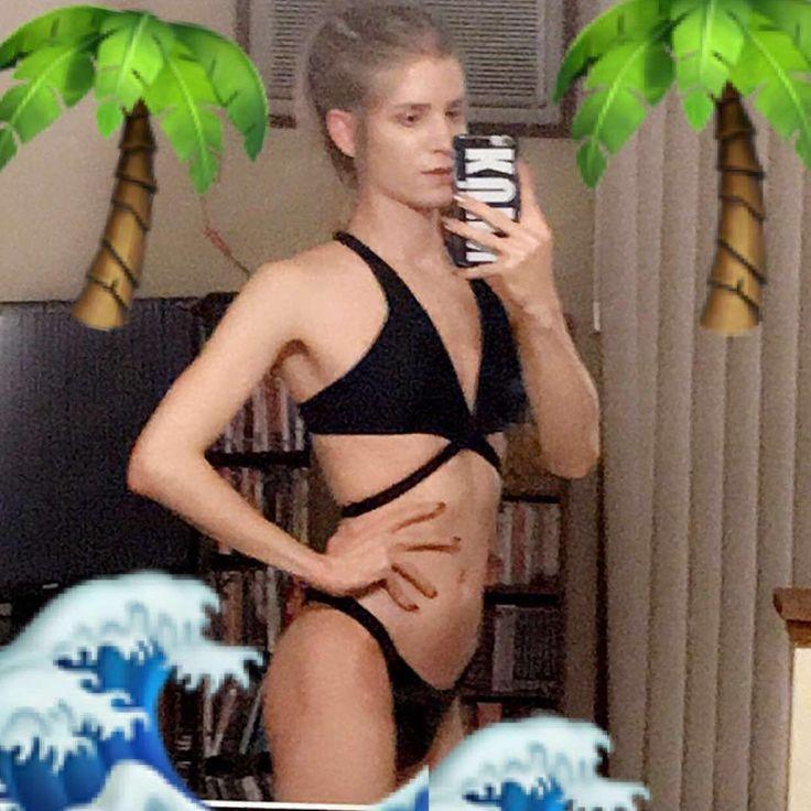 Getting ready for my Hawaiian vacation next month! #feelingbrave #transisbeautiful #crossdresser #transvestite #ladyboy #bikini