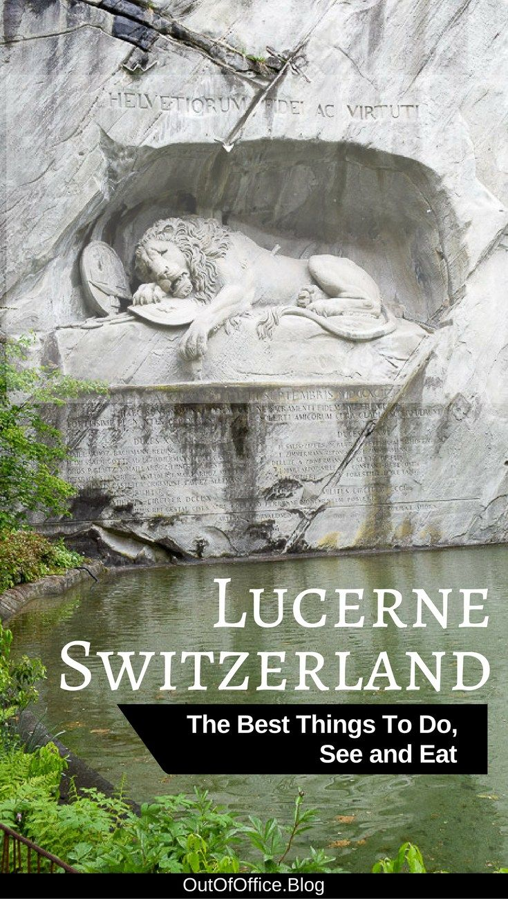 Lucerne Switzerland is full of colorful frescoes, wooden bridges, shutters galore, old city walls, monuments full of emotion, chocolate, lake setting and Swiss Alps... Lucerne has it all! Click here to discover the best things to do in Lucerne Switzerland.