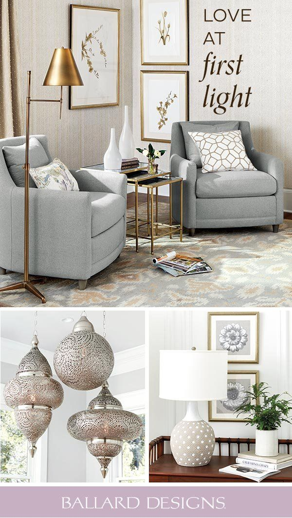 Find Love At First Light With Chic Floor Lights Table Lamps And More Sofa Design Living Room Designs Family Living Rooms