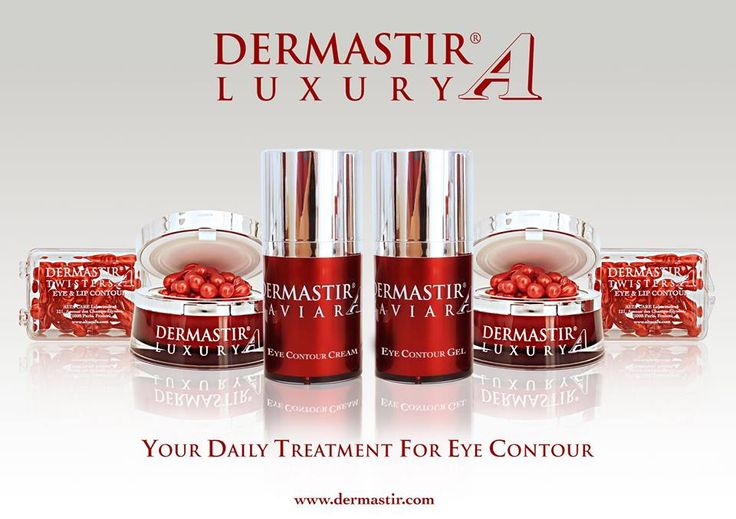 Your Daily Treatment For Eye Contour - #DermastirLuxury  For more info visit altacare.com