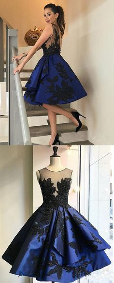 Homecoming Dress,Lace Homecoming Dress,Cute Homecoming Dress,Satin Homecoming Dress,Short