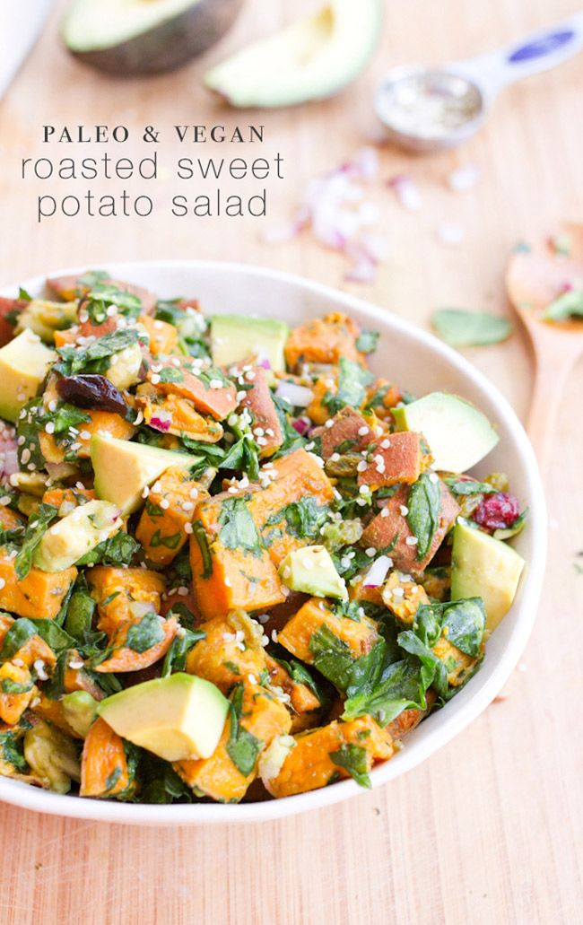 tossed with roasted squash and baby brussel sprouts served over kale ...