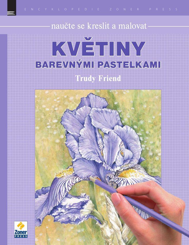 Naučte se kreslit a malovat květiny barevnými pastelkami
