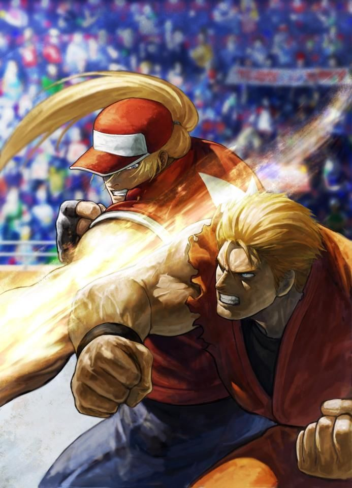 Terry Bogard (Fatal Fury) vs Ryo Sakazaki (Art of Fighting)