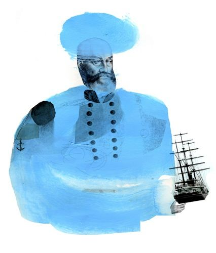 Matthew Richardson: Illustrations Inspiration, Collage, Inspiration Ships, Ships Battle