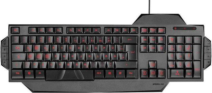Speedlink Rapax Gaming Keyboard - Black | Buy Online in South Africa…