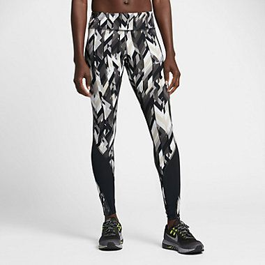 Nike Power Epic Lux Women's Printed Running Tights #Nike