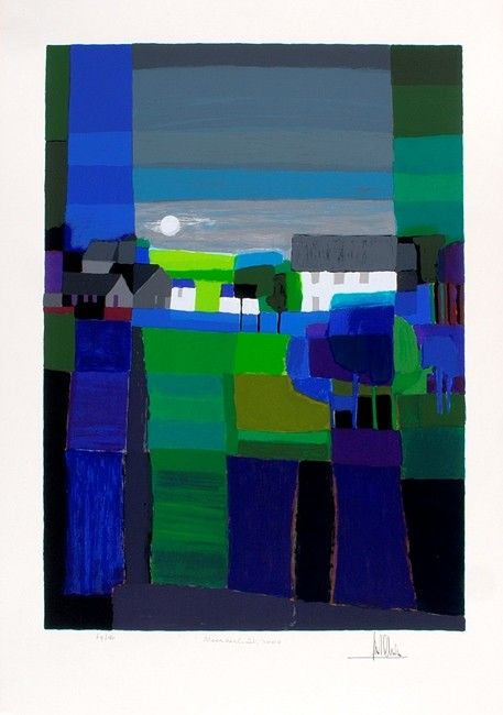 Zeefdruk van Ton Schulten, Noorderlicht 2000