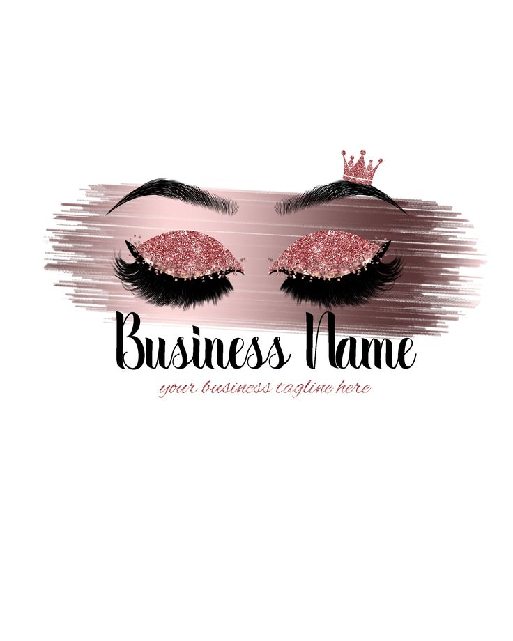 Logo Design Makeup Logo Beauty Logo Lash Logo Makeup