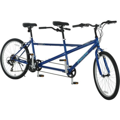 """Pacific Adults' Dualie 26"""" 21-Speed Tandem Bicycle"""